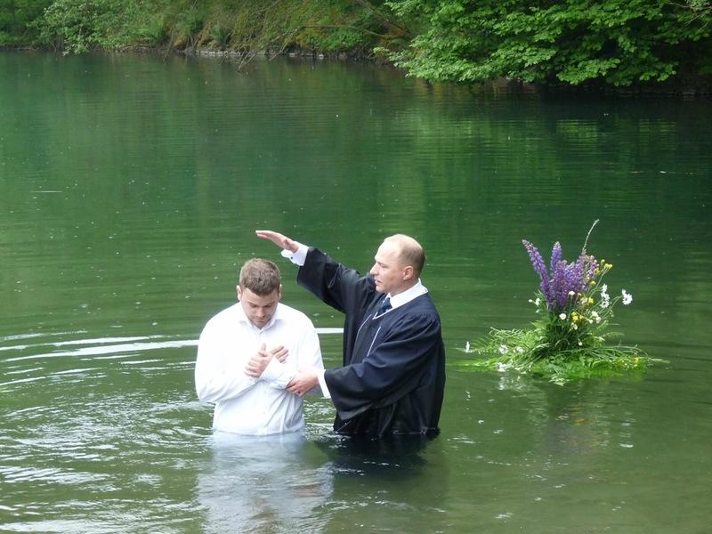 крещение баптистов