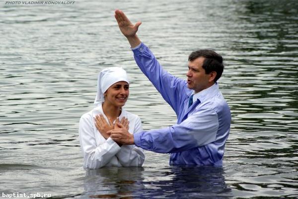 вода, баптисты, крещение, женщина, мужчина