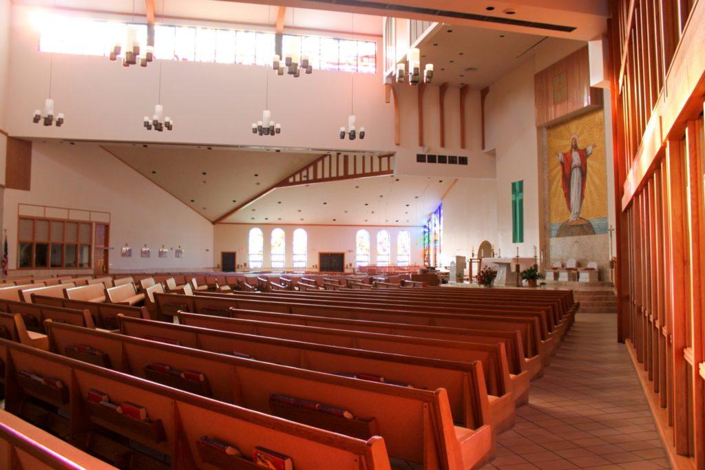 дом молитвы изнутри